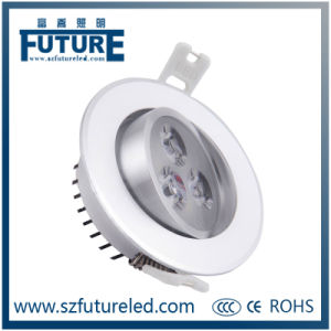 3W Aluminum LED Spotlight/LED Ceiling Spotlight pictures & photos