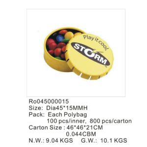 Pipa Candy and Pill Tin Box with Printing Custom Logo pictures & photos