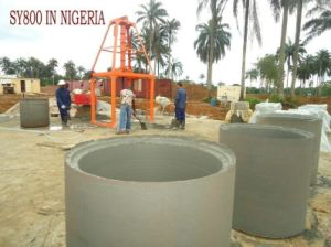 Germany Technology Sy1000 One Meter Concrete Pipe Without Spigot Joint Making Machine in Africa pictures & photos