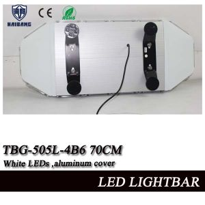 28 Inch White LED Mini Strobe Lightbar with Aluminum Cover and Linear Lens (TBG-505L-4B6) pictures & photos
