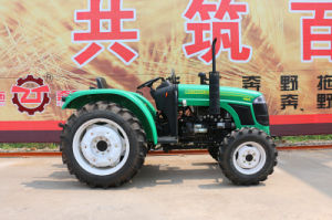 48HP 4WD 484 off-Road Farm Agricultrual Wheel-Type Tractor Factory pictures & photos