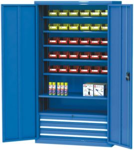 High Quality Metal Warehouse Storage Cabinet pictures & photos