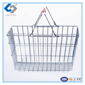Metal Wire Baskets for Shopping pictures & photos