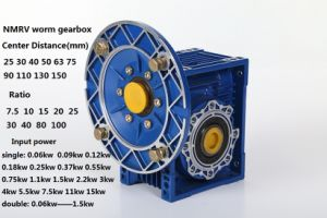 Nmrv Motor Reducer Fcndk Worm Gearbox Made in Aluminium Alloy pictures & photos