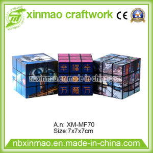7cm Magic Cube with Full Color Logo for Promo pictures & photos