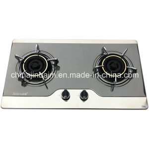 Promotion 2 Burners 710 Length Color-Coated Stainless Steel Built-in Hob/Gas Hob pictures & photos