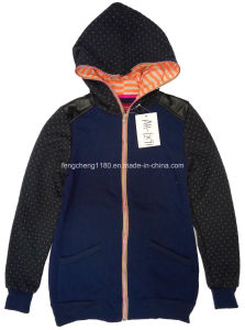 Ladies Spring Zipper Fleece Jacket pictures & photos