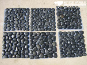 Natural Polished Pebble with Wax for Fish Tank, Massage pictures & photos