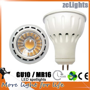 MR16 Gu5.3 12V SMD LED Spotlight LED Lamp with Ce (MR16-6W)