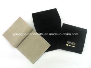 Custom Black Velvet Jewellery Pouches Bags pictures & photos