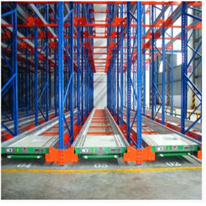 High Density Convenient Metal Steel Shuttle Radio Pallet Rack for Warehouse pictures & photos