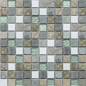 Mosaic Pattern Natural Marble Stone Mosaic for Bathroom pictures & photos