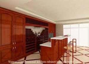 Cherry Solid Wood Kitchen Furniture (W066)