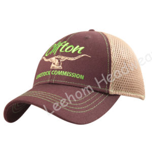 Promotional Camo Baseball Cap with Plastic Mesh pictures & photos