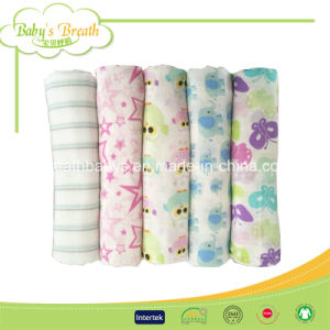 Factory Price Cotton Baby Muslin Swaddle Blanket