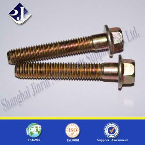 Grade 10.9 Hex Flange Bolt Made by China pictures & photos