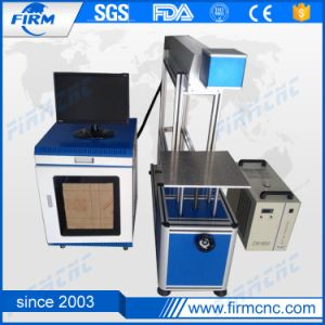 CO2 Laser Marking Machine for Plastic Wood pictures & photos