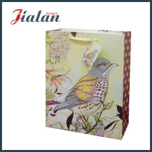Ribbon Rope Customize High Quality Glitter Cheap Paper Gift Bag pictures & photos