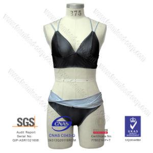 Fashion Lycra Contrast-Collar Bikini pictures & photos