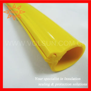 Insulation Overhead Line Silicone Rubber Sleeve pictures & photos