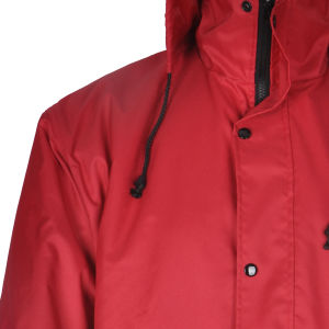 Breathable Winter Waterproof High Visibility Softshell Jacket/Waterproof Jacket with Hood pictures & photos