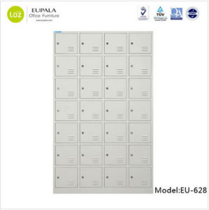 Supermarket 28 Door Bags Storage Metal Locker pictures & photos