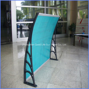 Polycarbonate Outdoor Swing Cushion Canopy Rain Cover Awning for Sale pictures & photos
