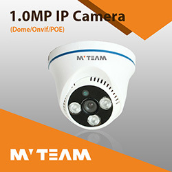 School Surveillance 720p Dome CCTV IP Camera with IR Cut pictures & photos