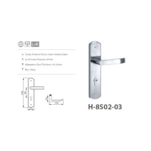 Stainless Steel Escape Function Lock with Computer Keys (H-8502-03) pictures & photos