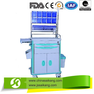 Luxury Medical Emergency Anesthesia Trolley pictures & photos