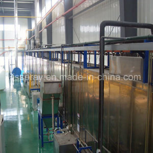 Industrial Color Metal Steel Frame Electrophoretic Coating Line