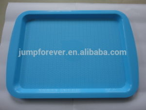 Household Daily Promotion Colored Plastic Serving Trays