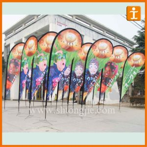 Cheap Custom Polyester Bow Banner (TJ-28) pictures & photos