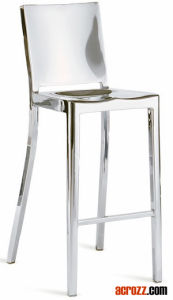 China Banquet Bar Furniture Chrome Steel Hudson Stool