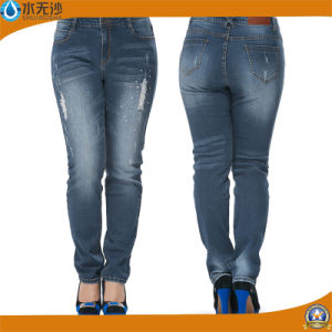 New Ladies Fashion Cotton Pants Skinny Denim Jeans pictures & photos
