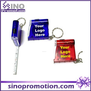 Mini Tape Measure with Transparent Plastic Case Promotional Gift pictures & photos
