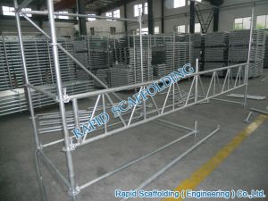 CE ISO Truss Ledger Steel Ringlock Scaffolding System pictures & photos