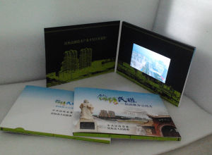 7inch Video Greeting Card; Video Brochure pictures & photos