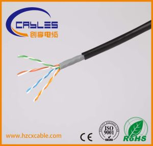 Communication Cable Cat5e Double Jacket with RoHS/ISO/Ce Certificates pictures & photos