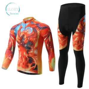 100% Polyester Man′s Cycling Jersey pictures & photos