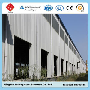 Prefabricated Steel Structure Frame Warehouse Workshop Building Project for Sale pictures & photos
