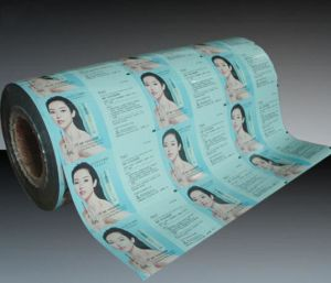 Plastic Sachet Packaging Pouch Film with Customized Printed for Cosmetic pictures & photos