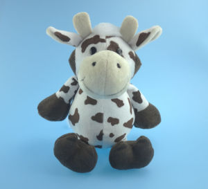 Sitting Animal Plush Toy Horse in Two Color pictures & photos