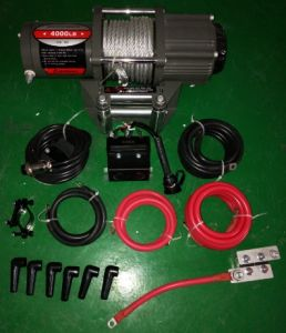 Power Winch Ce Approved ATV 4000lbs pictures & photos