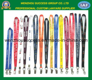 Promotional Custom Silk Screen Printed Neck Lanyard pictures & photos