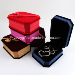 Fabric Ring/Pendants / Necklace / Bracelet Jewelry Packing Gift Box pictures & photos