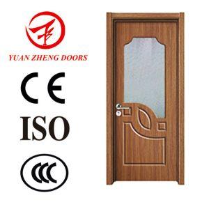 Modern Wood Door Designs PVC Shower Room Door pictures & photos