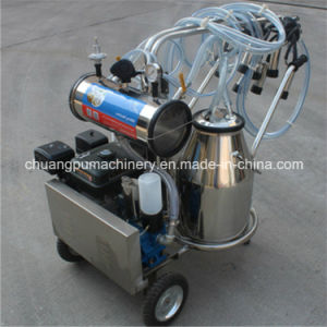 Gasoline Engine Milking Machine for Farm Cow Milking pictures & photos
