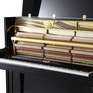 Musical Instrument Black Polished Upright Piano C23b pictures & photos