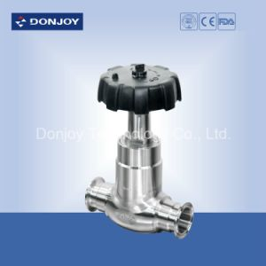 Stainless Steel 304/316L Clamped Globe Valve with Steel Handwheel pictures & photos